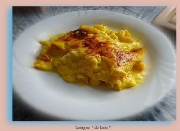 """Lasagne  """" de Luxe """" - Rezept"""