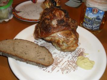 Rezept: Knusprige Schweinshaxe