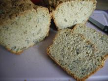 Dinkel - Haferflocken - Brot - Rezept