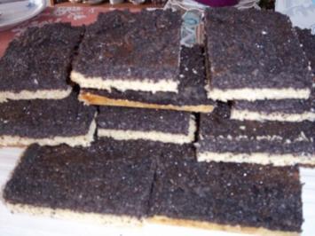 Mohn-Blechkuchen - Rezept
