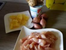 Hawaii Curry Hähnchen - Rezept