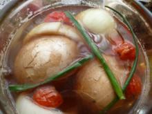 Sol-Eier mariniert - Rezept