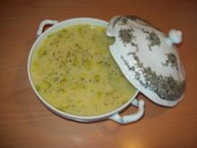 Lauchsuppe nach Omas Art - Rezept