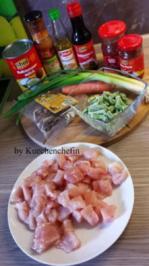 Thailändische Hühnchen-Gemüse Wokpfanne - Rezept
