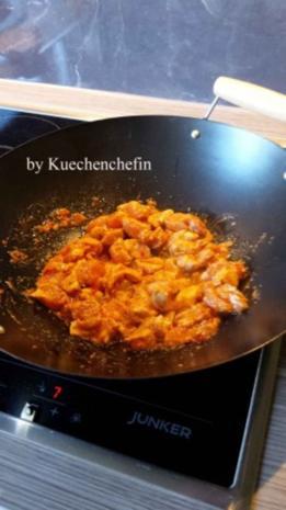 Thailändische Hühnchen-Gemüse Wokpfanne - Rezept - Bild Nr. 3