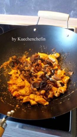 Thailändische Hühnchen-Gemüse Wokpfanne - Rezept - Bild Nr. 5