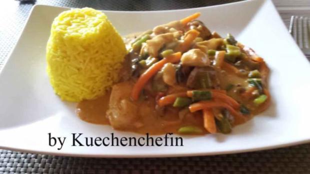 Thailändische Hühnchen-Gemüse Wokpfanne - Rezept - Bild Nr. 7