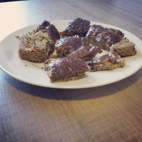 Schoko-Zucchini-Bites - Rezept