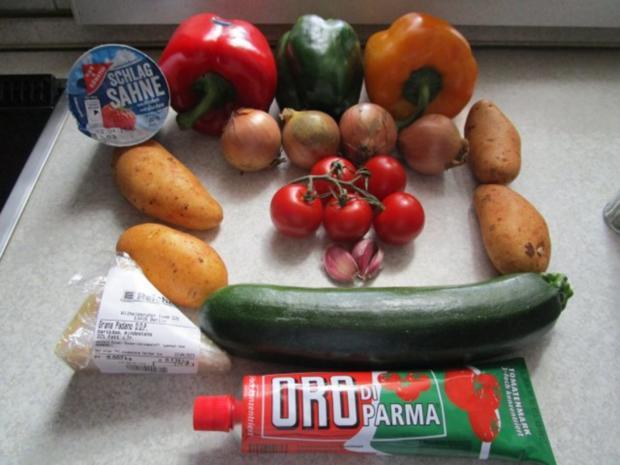 ~Auflauf~ mediterraner Gemüseauflauf - Rezept - Bild Nr. 3