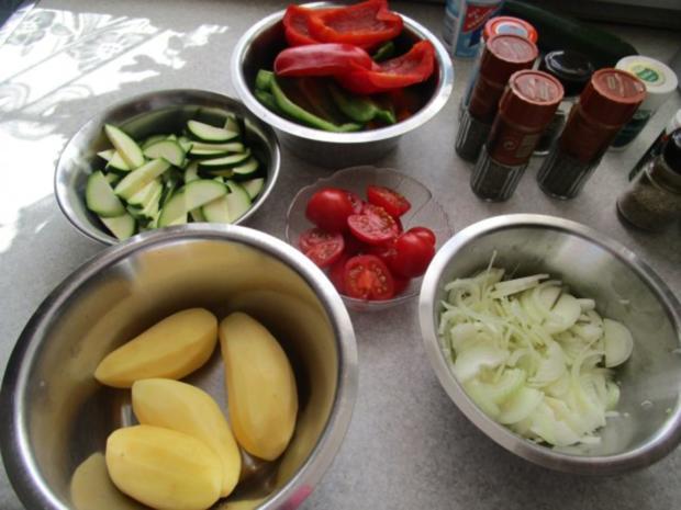 ~Auflauf~ mediterraner Gemüseauflauf - Rezept - Bild Nr. 5