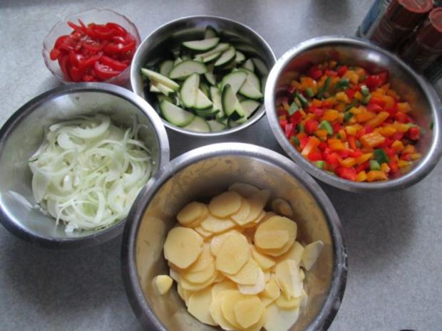 ~Auflauf~ mediterraner Gemüseauflauf - Rezept - Bild Nr. 6