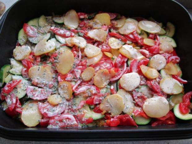 ~Auflauf~ mediterraner Gemüseauflauf - Rezept - Bild Nr. 17