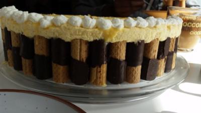 Torten und Kuchen: Nadin`s Torte mit Pfiff - Rezept