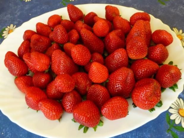 Pudding mit frischen Erdbeeren - Rezept - Bild Nr. 4