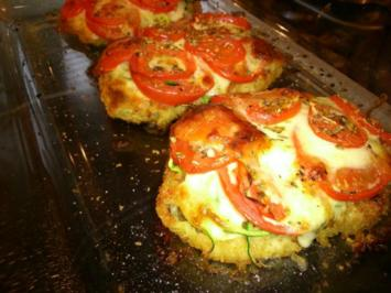 Überbackenes Schnitzel *TOMATE-MOZZARELLA* - Rezept