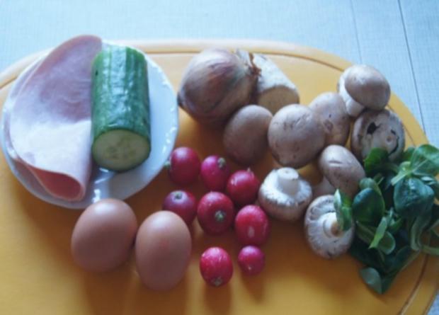 Pikantes Omelett mit Gemüse III - Rezept - Bild Nr. 2