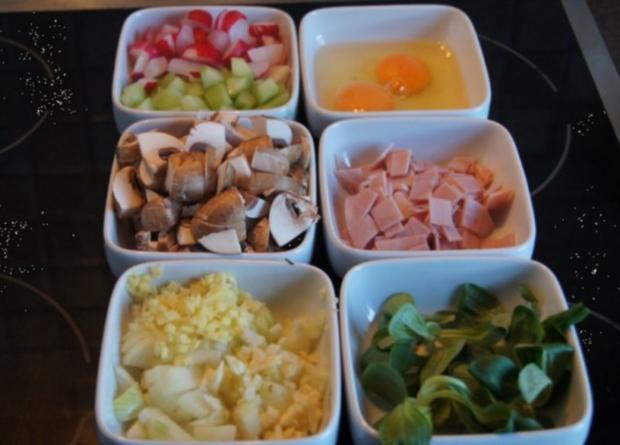 Pikantes Omelett mit Gemüse III - Rezept - Bild Nr. 3
