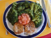 Puten Ministeaks mit Brokkoli - Rezept