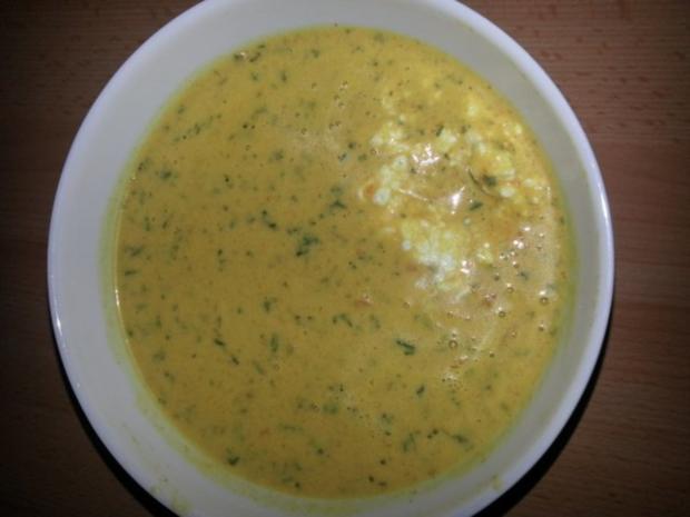 Karotten Kokos Suppe - Rezept