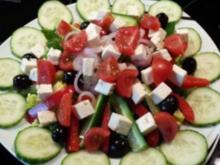 Salat mit Hähnchenstreifen - Rezept