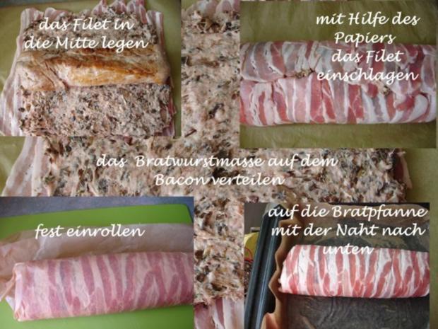 Schweinefilet im Pilzmantel - Rezept - Bild Nr. 9