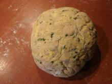 Kartoffel Bärlauch Brot - Rezept