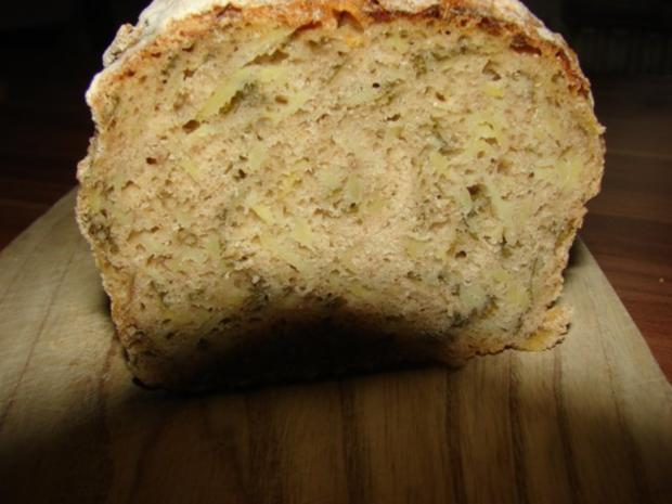 Kartoffel Bärlauch Brot - Rezept - Bild Nr. 4