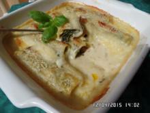 Spinat-Käse-Cannelloni - Rezept