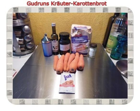 Brot: Karottenbrot für Ostern - Rezept - Bild Nr. 2