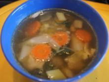 Hähnchenbrust-Gemüsesuppe - Rezept