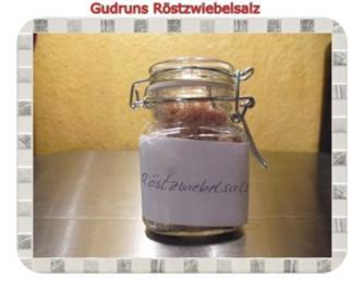 Gewürz: Röstzwiebelsalz - Rezept