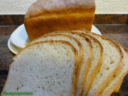 Brot:   BUTTERMILCHBROT  (750gr) - Rezept