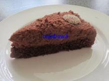 Backen: Schokoladen-Torte mit Frischkäse - Rezept