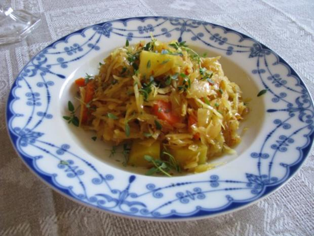 Äthiopisches Kohlgericht - Rezept