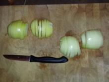 Wurstgulasch mit Tomaten - Rezept