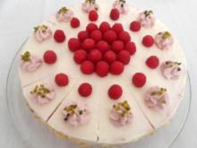 Himbeer - Käse - Sahne - Torte ... - Rezept