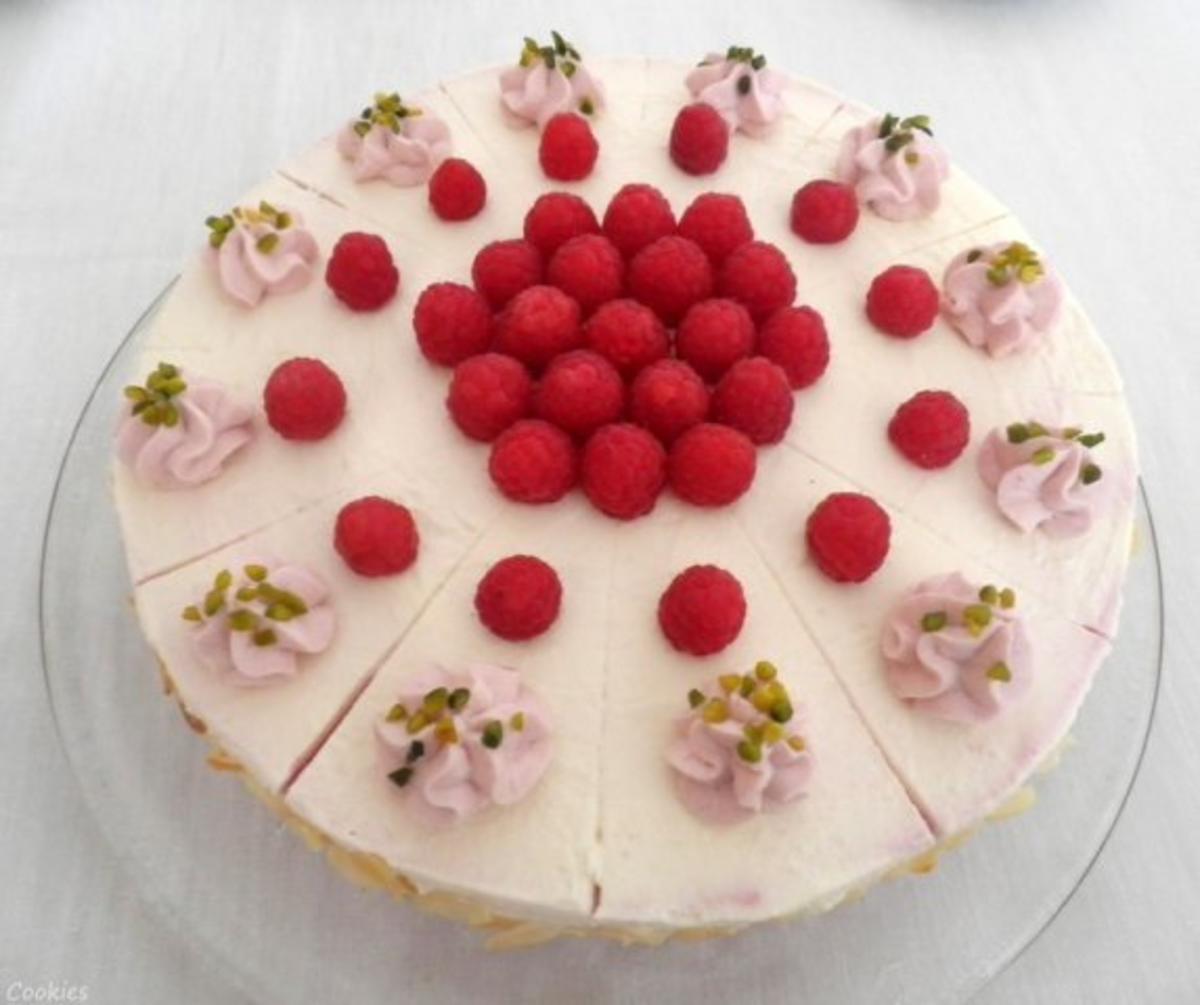 Himbeer - Käse - Sahne - Torte ... - Rezept By Cookies