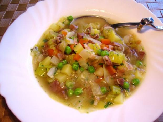 Spitzkohl-Eintopf mit Lammfleisch - Rezept