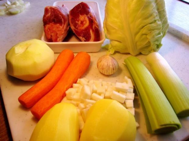 Spitzkohl-Eintopf mit Lammfleisch - Rezept - Bild Nr. 2