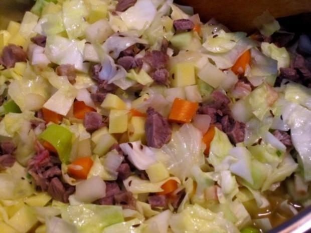 Spitzkohl-Eintopf mit Lammfleisch - Rezept - Bild Nr. 8