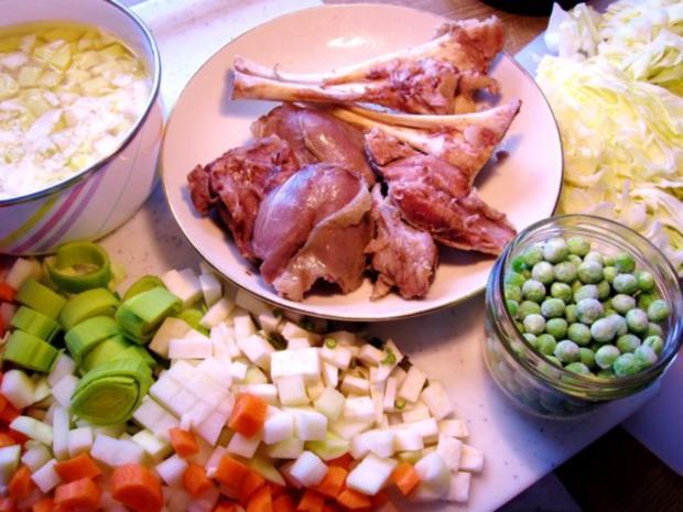 Spitzkohl-Eintopf mit Lammfleisch - Rezept - Bild Nr. 7