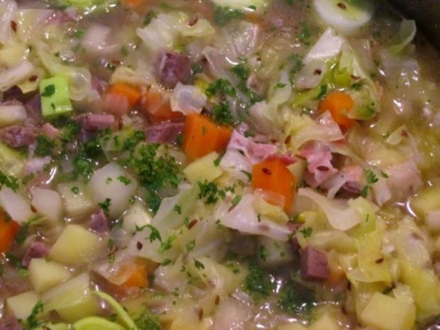 Spitzkohl-Eintopf mit Lammfleisch - Rezept - Bild Nr. 9