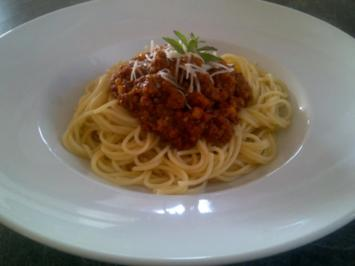Rezept: Spaghetti Bolognese nach Thomas Lievens Art