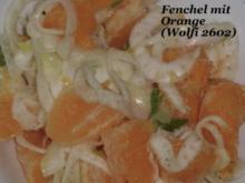 Beilage Salat : Fenchel-Orangen-Salat - Rezept