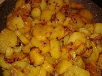 Rezept: Bratkartoffeln