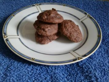 Schokoladen - Cookies - Rezept