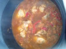 Hähnchenbrust in Paprika - Rezept