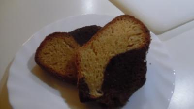 Marmorkuchen mit Knusperkruste - Rezept