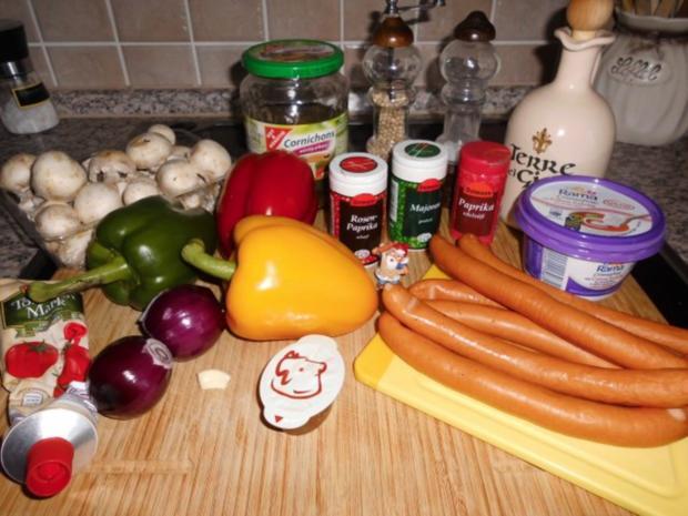 Paprika-Würstchen-Gulasch>> - Rezept - Bild Nr. 2