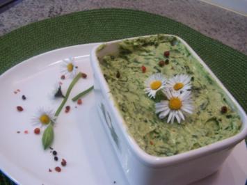 Bärlauch-Zitronen-Senf-Butter - Rezept